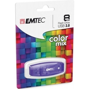 USB STICK EMTEC FLASH 2.0 8GB