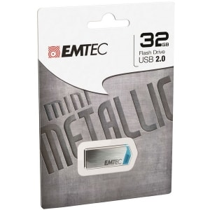 USB 2.0 32GB MINI METALLIC