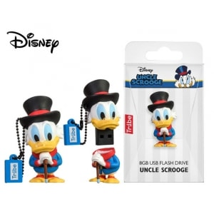 TRIBE FLASH DRIVE USB 3D DISNEY CLASSICS UNCLE SCROOGE 8GB