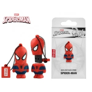 TRIBE FLASH DRIVE USB 3D SPIDERMAN 8GB