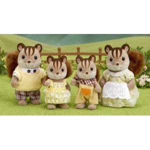 SYLVANIAN FAMILIES: WALNUT SQUIRREL FAMILY (4172)