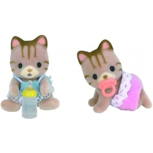 SYLVANIAN FAMILIES: STRIPED CAT TWINS (5188)