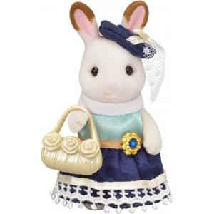 Sylvanian Families Town Girl Series Chocolate Rabbit 6002