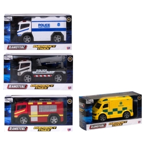 ΟΧΗΜΑΤΑ 1:43 EMERGENCY TRUCKS TEAMSTERZ -2018-