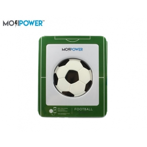 MOJI POWER BANK 2600mAh 5V/1A FOOTBALL