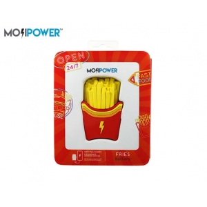 MOJI POWER BANK 2600mAh 5V/1A FRIES