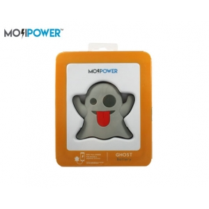 MOJI POWER BANK 2600mAh 5V/1A GHOST