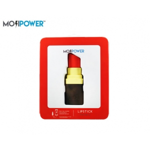 MOJI POWER BANK 2600mAh 5V/1A LIPSTICK
