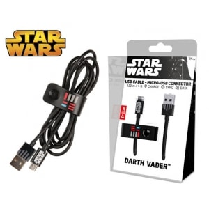 TRIBE ΚΑΛΩΔΙΟ USB MICRO 120cm STAR WARS DARTH VADER